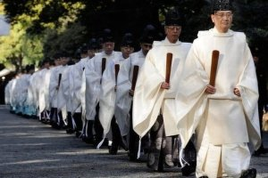 That these Shinto priests believe their gods desire people to be killed in their name