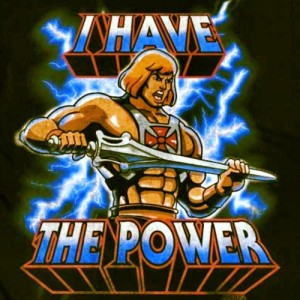 Of course, by that Logic only He-man could be racist because he has the power. And the rest of us don't.