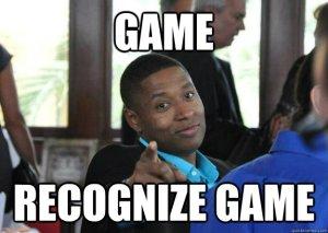 game recog game