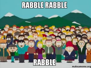 RABBLE-RABBLE-