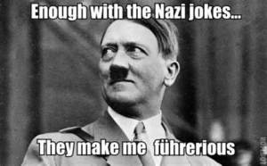 nazi furious