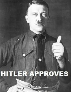 nazi hitler approves