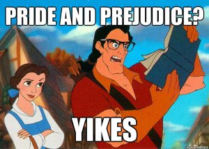 Almost as much as Pride and Prejudice does!