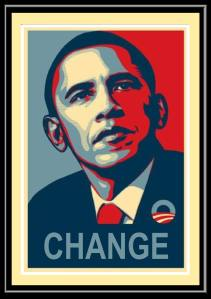 a_us___obama_change_x_framed__poster