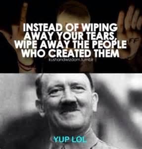 nazi wipe away