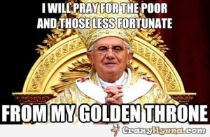 evil-pope-praying-for-the-poor-from-golden-throne-meme