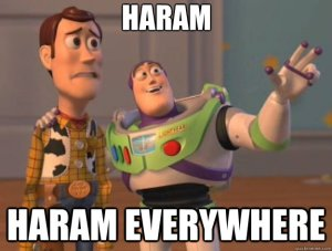 haram everywhere
