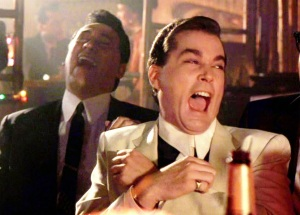 Ray Liotta Laughing In Goodfellas