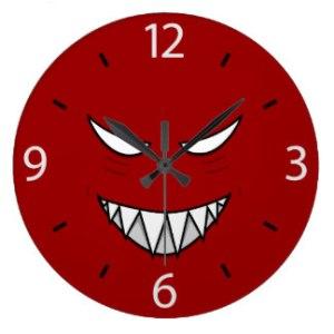 evil clock 1
