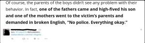 child rape no police
