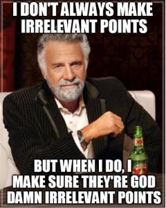 irrelevant point