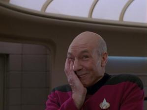 laughing picard