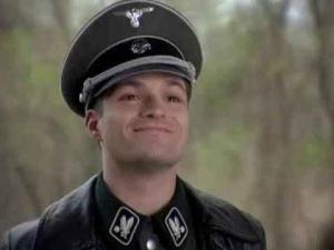 nazi smile