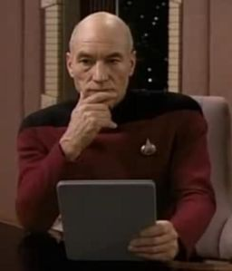 thinking picard