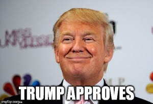 trump approves