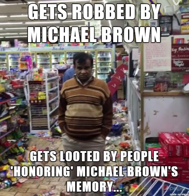 mike brown meme | Son of Hel