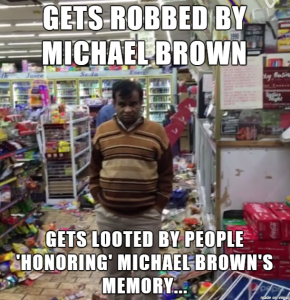 mike brown meme