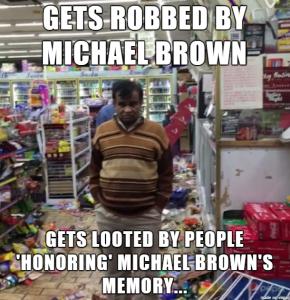 mike brown meme