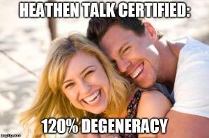 120 degeneracy