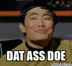 dat ass sulu