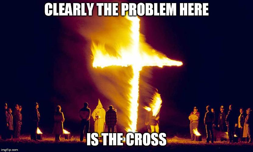 burning cross meme burning cross meme son of hel