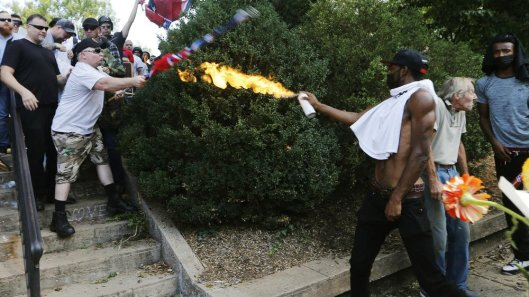 antifa flamethrower