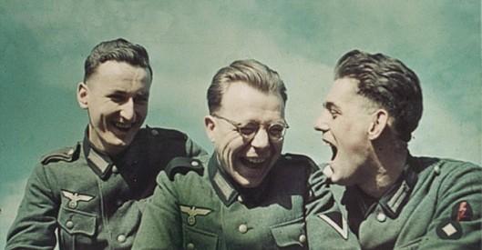 nazi laughing