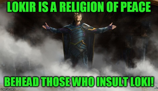 loki religion of peace