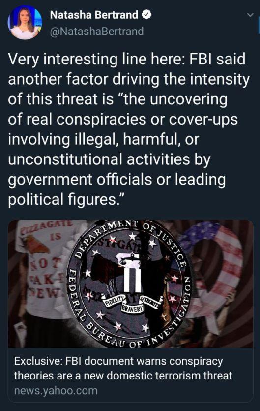 FBI conspiracy