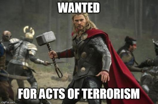 thor terrorism