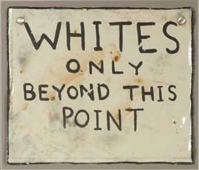 Whites-Only-Sign